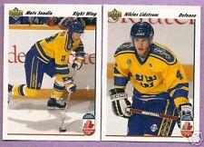 1991-92 Upper Deck Canada Cup Team Sweden Team Set