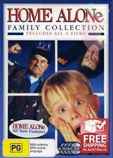 Home Alone Collection (DVD, 2003, 4-Disc Set) Macaulay Culkin