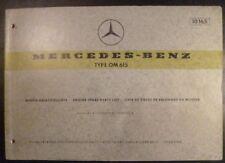 Mercedes Motoren OM 621 Ersatzteilkatalog