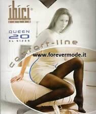 Collant donna Ibici Queen 20 denari con guaina riducente comfort art Queen 20