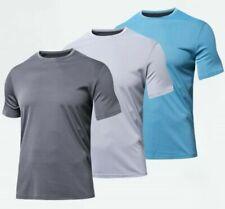 Funktions Shirt Herren Laufshirt Fitness Sport Shirt kurzarm schnelltrocknend