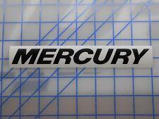 """Mercury Decal Sticker 7.5"""" 11"""" Verado Outboard Carbs Prop Alpha Optimax 25 50 90"""