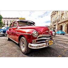 Stickers muraux déco : voiture rouge 1427