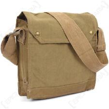 WW2 British MKVII Respirator Bag - UK Army Surplus Gas Mask Carrier Indie Jones