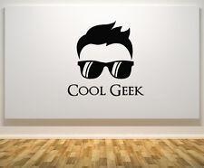 FRIGO Geek Occhiali per capelli Dude Adesivo Parete decalcomania arte Foto
