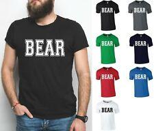 BEAR T-Shirt - Funny Men's Slogan Tee Gay Pride Bearded Hairy Big