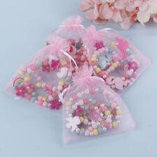 Kids children cartoon beads necklace jewelry girls gift FO