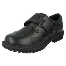 Niños N1095 NEGRO CIERRE ADHESIVO Correa Zapatos de Cool 4 SCHOOL