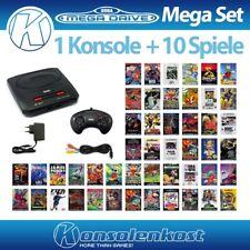 Mega Drive MegaSet - Konsole MD 2 (inkl. 1 original Controller + 10 Spiele)