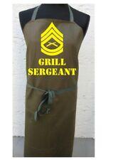 GRIGLIA Sergeant US Army Grembiule per DA CUCINA BBQ BW FUN KITCHEN APRON