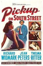 70032 Pickup on South Street Richard Widmark Jean FRAMED CANVAS PRINT Toile