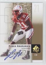 2011 SP Authentic Gold Autographs Autographed #27 Prince Amukamara Auto Card