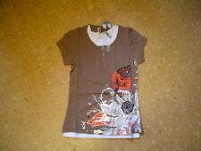 SO 12 Camiseta doble, marrón V. García T. gr.164-176