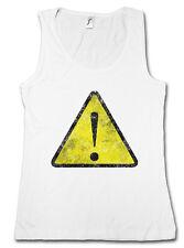 WARNING SIGN TANK TOP Symbol Logo Insignia USA Caution Danger Biohazard