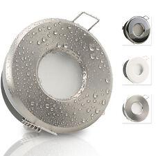 LED Bad Einbaustrahler 230V Feuchtraum 3W 5W GU10 290 /420 Lumen MER-IP65 aussen