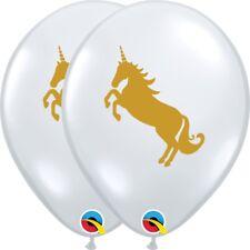 unicornio FIESTA ORO globos de látex calidad Helio Cumpleaños Mágico Decoración