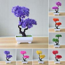 7-colour Artificial Potted Tree Vivid Bonsai Simulation Plant Home Decor Table