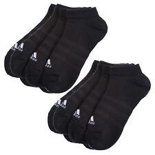 6 Paar ADIDAS NoShow Sneaker Socken schwarz 39-46 NEU 6er Pack Füßlinge Low Cut