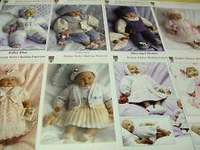Jacquay YAXLEY - Tricot modèle pour poupée - Bébé prématuré tenues