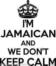 Jamaican Wall Sticker... 20 inches Tall We Don't Keep Calm Vinyl Wall Art