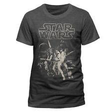 Star Wars Licensed A New Hope Luke Skywalker Tee T-Shirt Men