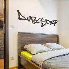 Dubstep Graffiti Vinyl Wall Decal fits teenager bedroom transfer sticker K407-W