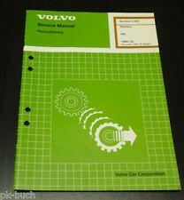 Service Manual Volvo 440 / 460 Gearbox ab Baujahr 1986 Stand 11/1993