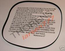 4mm breiter Riemen für Thorens TD 145 / Thorens TD 146