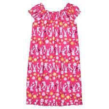 NWT Gymboree Girls Bunny Rabbit Pink Sleeveless Nightgown Gymmies Pajamas