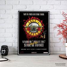 Guns N' Roses - Paris 7 July 2017 Not In This Lifetime Tour - Fine Art Poster