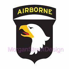 101st Airborne Army Decal Sticker Car Truck Computer Yeti iPhone