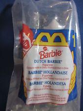 McDonalds 1995 Happy Meal Toy Barbie Dutch Barbie #1