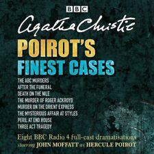 Poirot's Finest Cases: Eight full-cast BBC radio dramatis... by Christie, Agatha