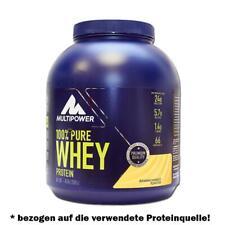 (21,25 Eur/kg) Multipower 100% Whey Protein 2000g Dose Eiweiß Aminosäuren BCAA