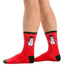 Calcetín Hombre Navidad Divertido Festivo Diseños 1 OR 4 Pares Disponible