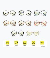 Rétro sans force verres ronds plein cadre lunettes mâle et femelle universelle
