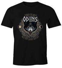 Herren T-Shirt Lieber ein Wolf Odins als ein Lamm Gottes Fun-Shirt Moonworks®