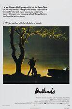 Badlands 1973 Retrò Movie Poster A0-A1-A2-A3-A4-A5-A6-MAXI 597