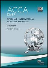 Diploma in International Financial Reporting: étude de texte par