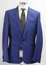 Men's Harry Brown, slim fit blue 2pc suit, 36 - 46.. (52114/8262)