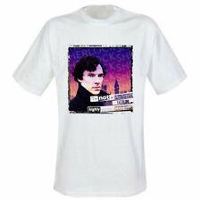 """Oficial Sherlock """"psicópata"""" Diseño Adultos Camisetas-envío rápido y gratis!"""