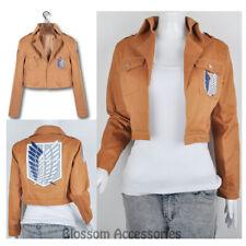 K130 Attack on Titan Shingeki No Kyojin Scouting Legion Cosplay Costume Jacket