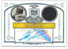 06 Bowman Sterling Ronny Paulino Auto Jersey RC #/199