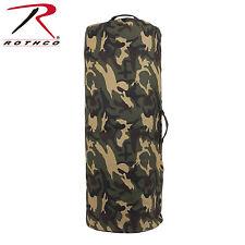 Rothco 3689 / 3439 Canvas Duffle Bag w/ Side Zipper