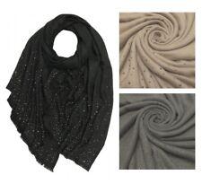 ac20aa1a985807 LONDON SCARVES Cashmere Mix Vintage Schal Tuch Nieten 20% Kaschmir NEU
