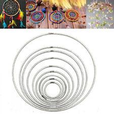 Strong Metal Dream Catcher Ring Macrame Craft Hoop DIY Accessory 35-160mm NEW