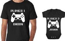 player 1 player 2 shirt set father son shirts father son tshirts daddy son shirt