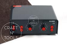 REGAD M6000 Electric Creasing & Edging Machine. Leather Creaser Tool