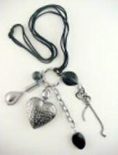 Halskette Herz 80 cm, Farbwahl
