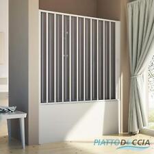 PORTA BOX DOCCIA NICCHIA SOPRAVASCA PVC 140-170CM SCORREVOLE LATERALE H150 PROMO